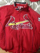 St. Louis Cardinals Authentic Majestic Players Classic Jacket- Size Large