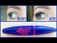 Maybelline New York The Rocket Volum Express Mascara Black 9.6ml Brand New