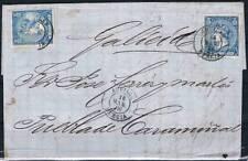 1866.- AGUILAS (MURCIA) A PUEBLA DEL CARAMIÑAL