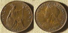 Great Britain : 1896  1/2 Pen.  BR.AU-UNC   #789    IR7738