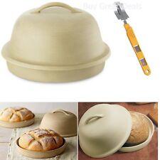 NEW Old Fashion La Cloche Bread Baker with Specialty Bread Lame