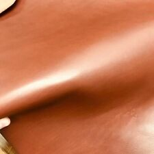 5/6 Oz Vegetable Tanned European Import Cow LEATHER CHESTNUT #