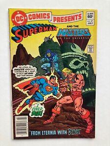 DC Comics Presents #47 SUPERMAN & MASTERS OF THE UNIVERSE; 1st app He-Man