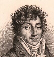 Eau-Forte Henri Montan Berton Violon Violoniste Compositeur Musique