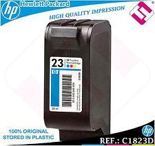 Ink 23 tricolor genuine HP hewlett packard c1823d cartridge
