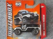 Matchbox 2013 #113/120 ROAD RAIDER black police New casting MBX Heroic rescue