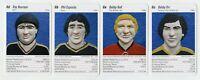 BOBBY ORR, BOBBY HULL, PHIL ESPOSITO, RAY BOURQUE Hockey Game Cards RARE