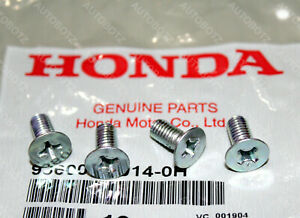 4 x Genuine OEM HONDA ACURA DISC BRAKE RETAINING ROTOR STAINLESS SCREWS 4 pcs