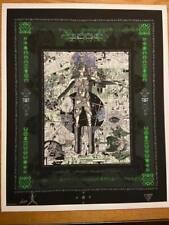 Tool Japan 06 Concert Poster Orig signed numbered edition Macrae 326/350 Doodled