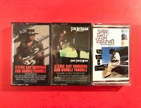 Stevie Ray Vaughan Sky Is Crying, Texas Flood, Stand Weather 3 Cassette Tape Lot