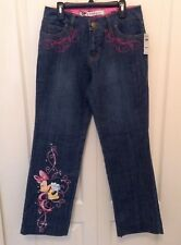 Disney Store Princess Sz 4 SHORT Medium Wash Denim Jeans I1