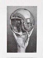 MC Escher Hand mit Kugel Poster Kunstdruck Bild 35,5x28cm