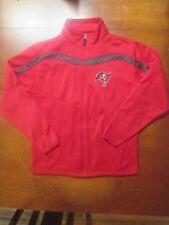 NFL Tampa Bay Buccaneers Antigua Quarter Zip Microfleece Pullover Jacket - M 1cf0464ac