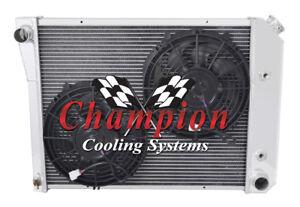 1968 1969 1970 1971 1972 1973 1974 Chevy Nova Eagle Racing 3 Row Radiator CC571