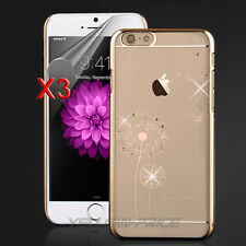 iPhone 6s Plus Case, [+3pcs HD Films] Crystal Rhinestone Diamond Bling Hard Case
