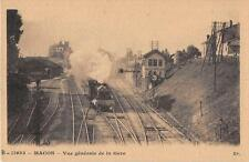 CPA 71 MACON VUE GENERALE DE LA GARE (TRAIN