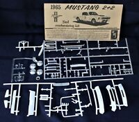 Vintage AMT Annual 1965 Mustang 2+2 Model car parts & Instructions See Pictures