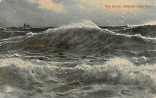 US N.J. Atlantic City, The Storm, Rough Sea