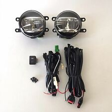 For 2007 2008 Toyota Solara Fog Driving Light Kit Built-in LED with Wire Switch