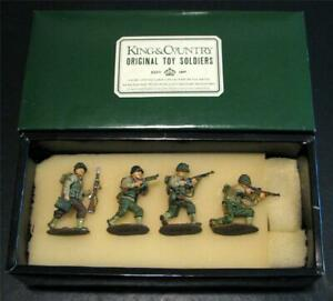 King and Country's WWII Three US Rangers Plus A 29th Infantry Corporal DD002