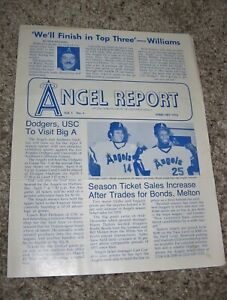 FEBRUARY 1976 ANGEL REPORT - CALIFORNIA ANGELS BASEBALL NEWSLETTER