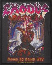 OFFICIAL LICENSED - EXODUS - BLOOD IN BLOOD OUT SEW ON PATCH THRASH METAL