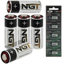 10 X Ngt LRV08 BATTERIES 12v Battery Bite Alarms Carp Fishing VX VC Camo Leeda
