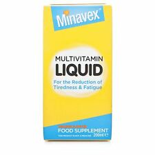 Seven Seas Minavex Multivitamin Liquid - 200ml