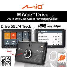 Mio MiVue Drive 65 LM Truck Caravan + Lifetime EU Map & Safety Camera Updates