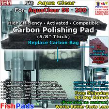 For AquaClear 50,200 Filter A610,A612,A1384,614,1404,611,1414 Generic Carbon Pad