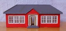 N scale building Fairfield school or train station red brick built Bachmann