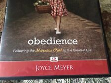 OBEDIENCE FOLLOWING THE NARROW PATH TO THE GREATEST LIFE 4 cds by Joyce Meyer