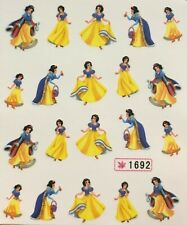 Nail Art Water Transfer Decals Snow White 1692