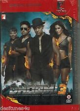 DHOOM 3 - OFFICIAL UK BOLLYWOOD 2 DISC DVD - FREE POST [AAMIR KHAN]