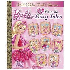Barbie 9 Favorite Fairy Tales (Barbie) (Little Golden Book Treasury) by Various