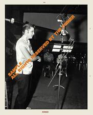 Elvis Presley Candid Recording Studio Photos 1950`s 5x6 New List 2013