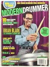 MODERN DRUMMER MAGAZINE BRIAN BLADE RINGO STARR LENNY WHITE P.O.D. ROY BURN