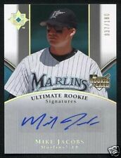 2006 Ultimate Collection Autograph MIKE JACOBS RC AUTO