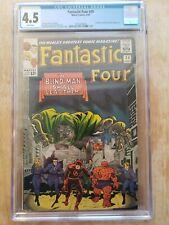 Marvel Comics Fantastic Four 39 CGC 4.5 Stan Lee Jack Kirby