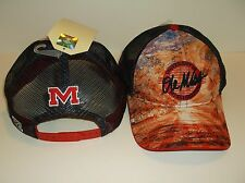 Mississippi Rebels Ole Miss Ball Cap Hat~Brilliant Series~Snapback~Ships FREE