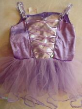 girls DRESS UP COSTUME OUTFIT purple ballerina fairy FANCY dance SIZE 4-6X 5