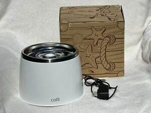 Store display: CAT/DOG Drinking Fountain STAINLESS STEEL BOWL Catit  64 fl. oz.