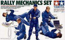 TAMIYA 1/24 RALLY MECCANICA & Equipment Set # 24266
