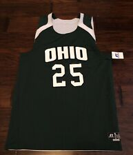 Russell Athletics Men's Ohio Bobcats Reversible Basketball Jersey Sz. L NEW #24