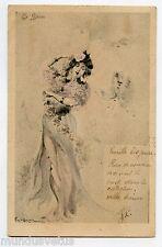 Emile-Antoine BAYARD . La Danse . Dance . Papillon . Butterfly