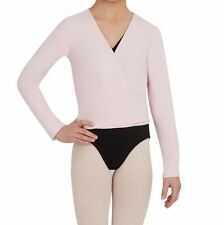 Capezio Women's Cross-Over Top Pink Ballet Dance Jazz Gymnastic szS BNWT (56)