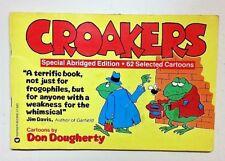 Jim Davis (1982 Paperback Book ISBN# 0446376639 1st Ed. Don Dougherty) Croakers