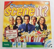 Comedy Movies Scene It? DVD Deluxe Board Game Family Trivia - Brand New & Sealed