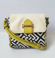 SPARTINA 449 Womens Geometric Print Crossbody Shoulder Bag Handbag Purse