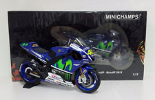 Minichamps Valentino Rossi 1/12 Model Yamaha Yzr M1 Movistar Motogp 2015 New